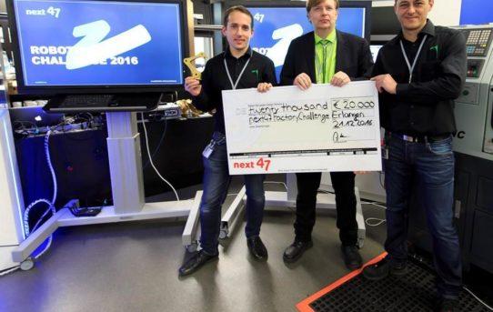pi4 gewinnt next47 Robotics Challenge bei Siemens