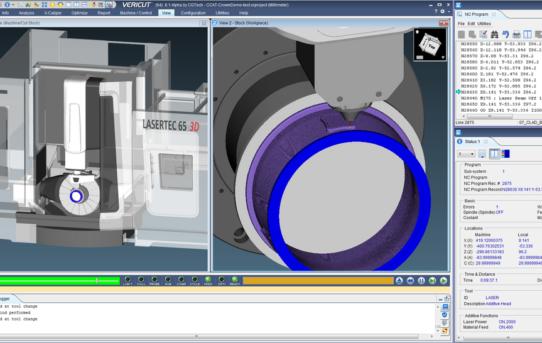 NEU: VERICUT simuliert jetzt auch additive Verfahren