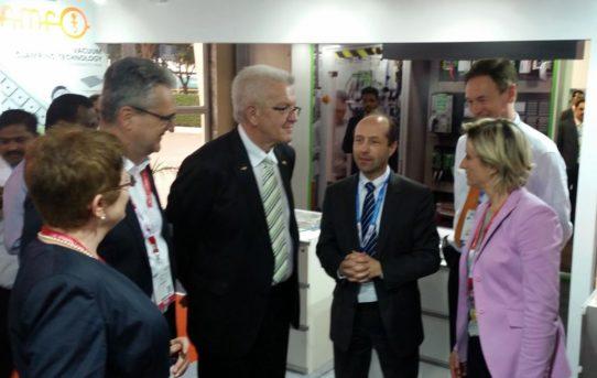 Ministerpräsident Kretschmann besucht AMF