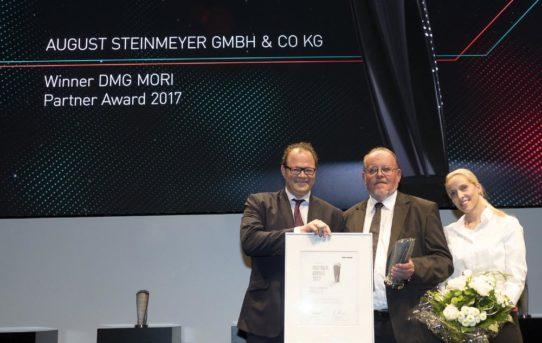 """""""DMG MORI Partner Award 2017"""" für August Steinmeyer"""