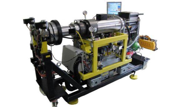 RCM – Rapid Compression/Expansion Machine zur Simulation und optischen Untersuchung innermotorischer Verbrennungsvorgänge
