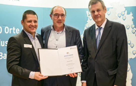 """United Planet für """"Industrie 4.0""""-Leuchtturmprojekt ausgezeichnet"""