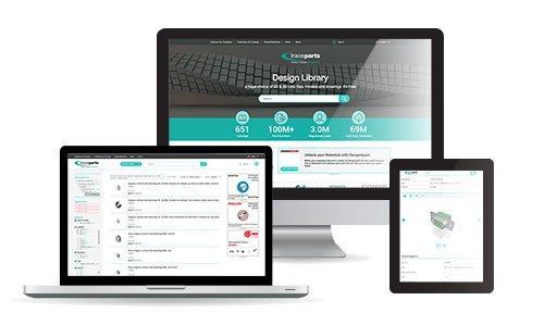 3D-Spezialist TraceParts geht mit neuer Website online