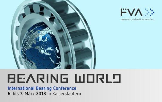 International Bearing Conference am 6. und 7. März 2018, Kaiserslautern