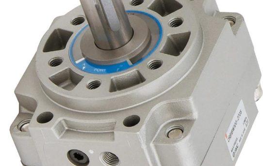 Drehflügel-Schwenkantriebe mit Direktmontage von Signalgebern