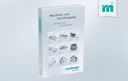 Neuer Katalog für den Maschinen- und Vorrichtungsbau