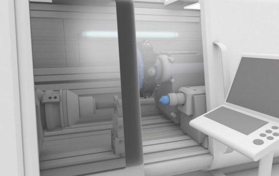 Kühl- und schmiermittelbeständige Maschinenleuchten mit Diffusor von Balluff