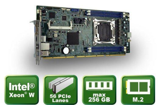 PEMUX-XEW1 – Slot CPU Karte mit Xeon® W Prozessor
