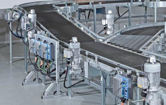 Dezentrale Antriebstechnik für die digitale Fabrik der Zukunft
