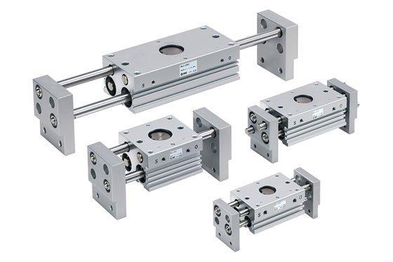 Leicht, kompakt mit großer Öffnungsweite - pneumatische Parallelgreifer von SMC stark verbessert