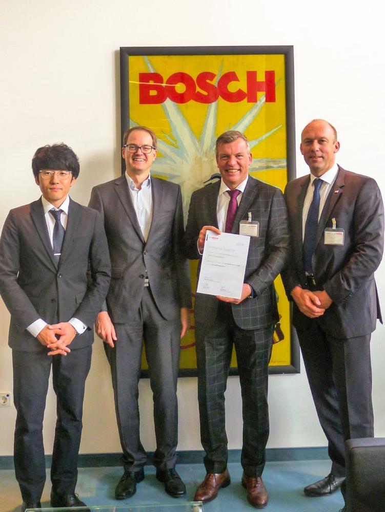 """Globale Zusammenarbeit für Automatisierungstechnik: SMC ist """"Preferred Supplier"""" von Bosch"""