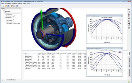 Neue Version zur Berechnung von Getriebesystemen
