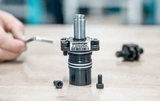 Einbauzylinder mit Flansch – neuer Durchmesser ab Lager verfügbar