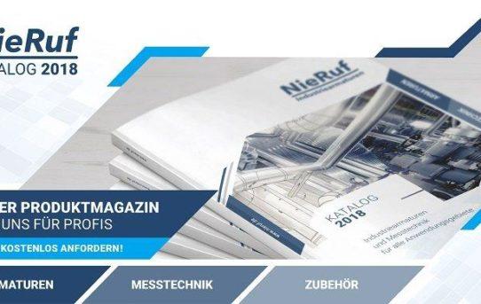 Das Sortiment auf einen Blick: NieRuf GmbH veröffentlicht den Katalogifant 2018