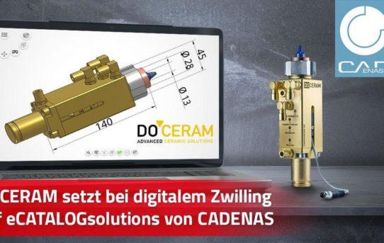 DOCERAM setzt bei Digitalisierungsstrategie auf 3D CAD Produktkatalog powered by CADENAS