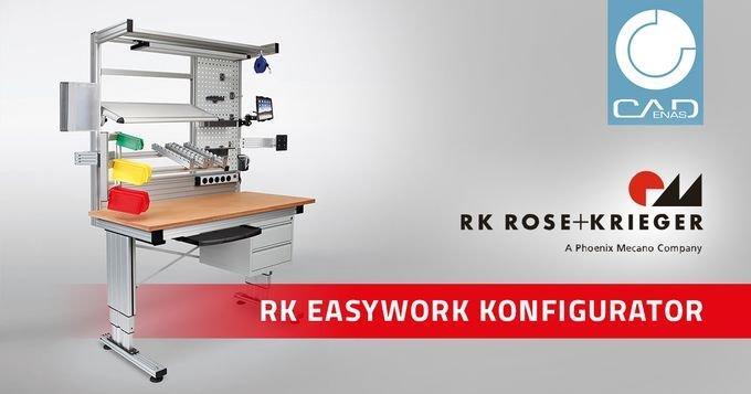 Moderne Arbeitsplatzsysteme von RK Rose+Krieger einfach online konfigurieren