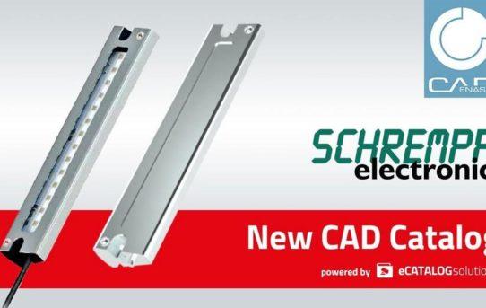 Mit skalierbarem 3D CAD Produktkatalog von CADENAS ist Schrempp electronic für die Zukunft gewappnet