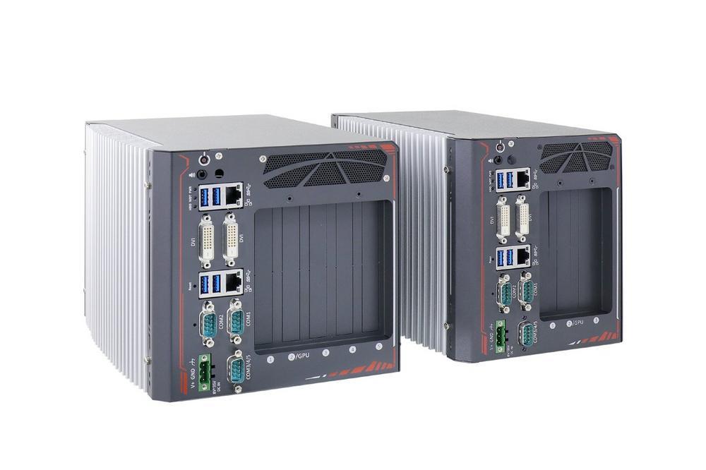 Nuvo-8000 - Erweiterbare Box-PCs mit bis zu 5 PCIe/PCI Slots