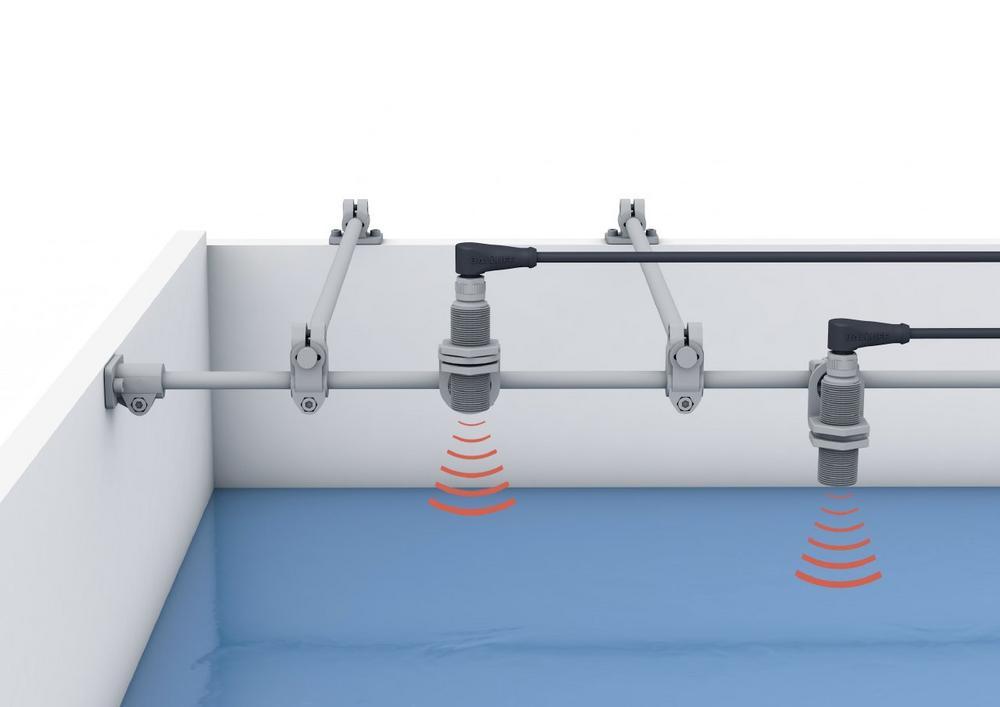 Flexibles Edelstahl-Montagesystem von Balluff mit Ecolab-Zulassung