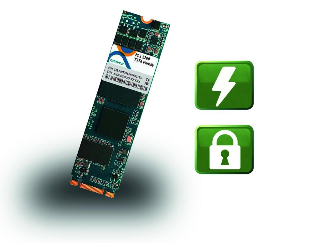 Industrielle M.2 SSD Serie mit Power Loss Protection