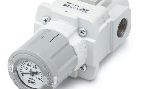 Die Druckeinstellung fest im Blick – Regler/Filterregler mit Manometer im Einstellknopf