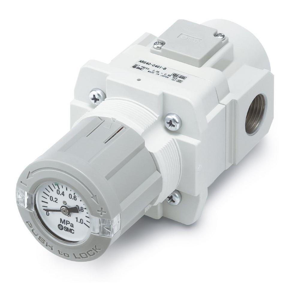 Die Druckeinstellung fest im Blick - Regler/Filterregler mit Manometer im Einstellknopf