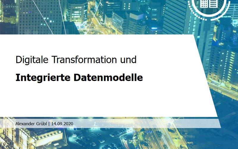 Digitale Transformation und integrierte Datenmodelle
