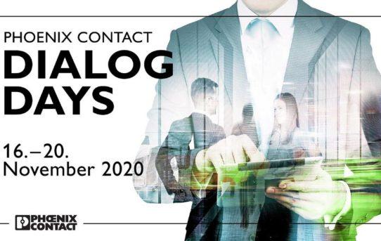 Phoenix Contact Dialog Days zum zweiten Mal: Innovationen und technologische Trends auf digitalem Weg