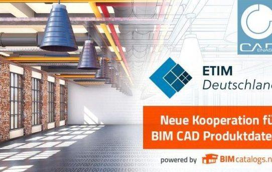 Neue Kooperation: ETIM Deutschland & CADENAS werden gemeinsam BIM Daten für ETIM MC bereitstellen