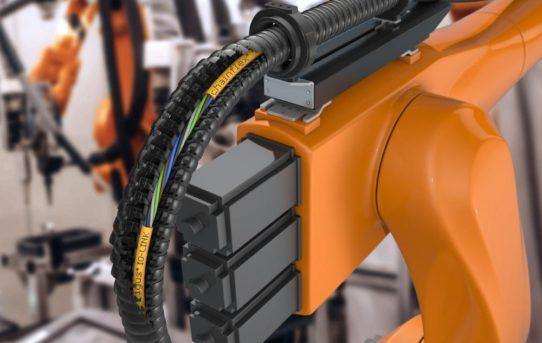 Neue chainflex IO-Link Leitungen sorgen für eine sichere Kommunikation auch bei Torsion