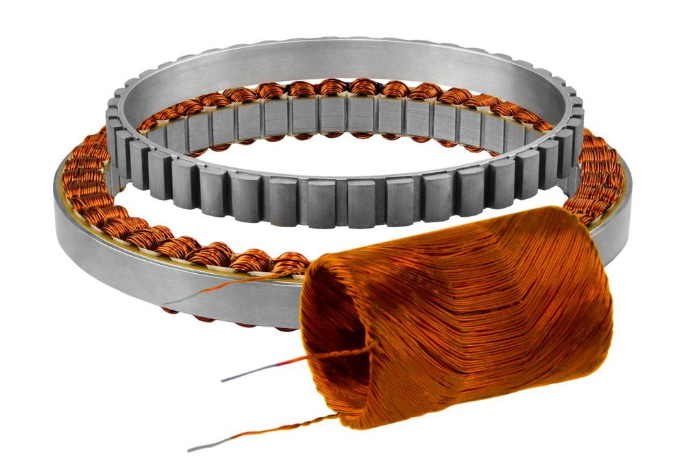 Kein Rastmoment mit nutlosen Permanentmagnet-Motoren