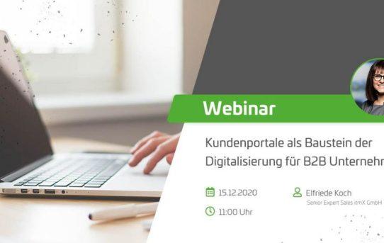 Serviceportale als Baustein der Digitalisierung von B2B-Unternehmen