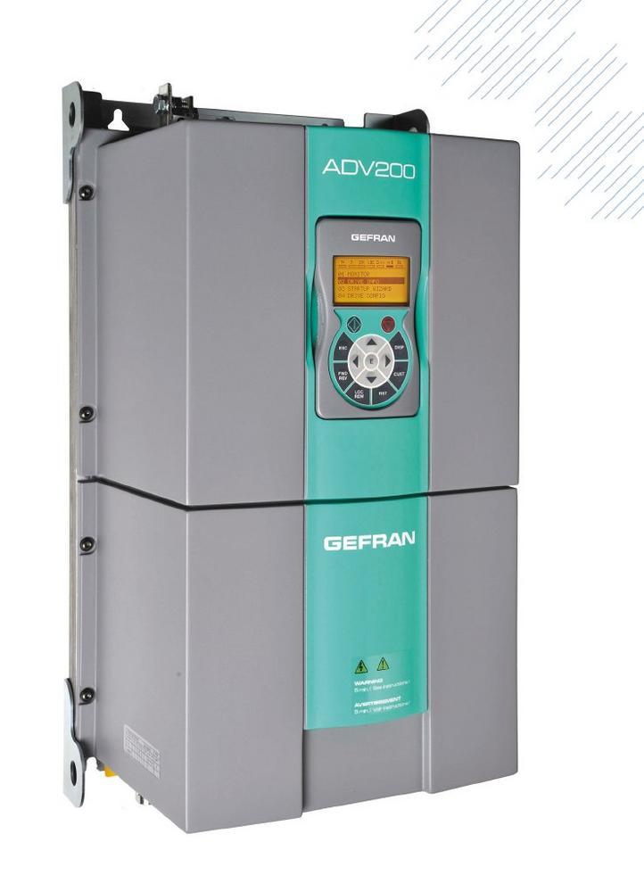ADV200 LC von GEFRAN mit Flüssigkeitskühlung