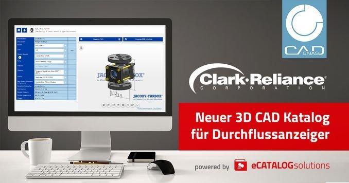 Clark-Reliance Corporation veröffentlicht 3D Produktkonfigurator für Jacoby-Tarbox Durchflussanzeiger
