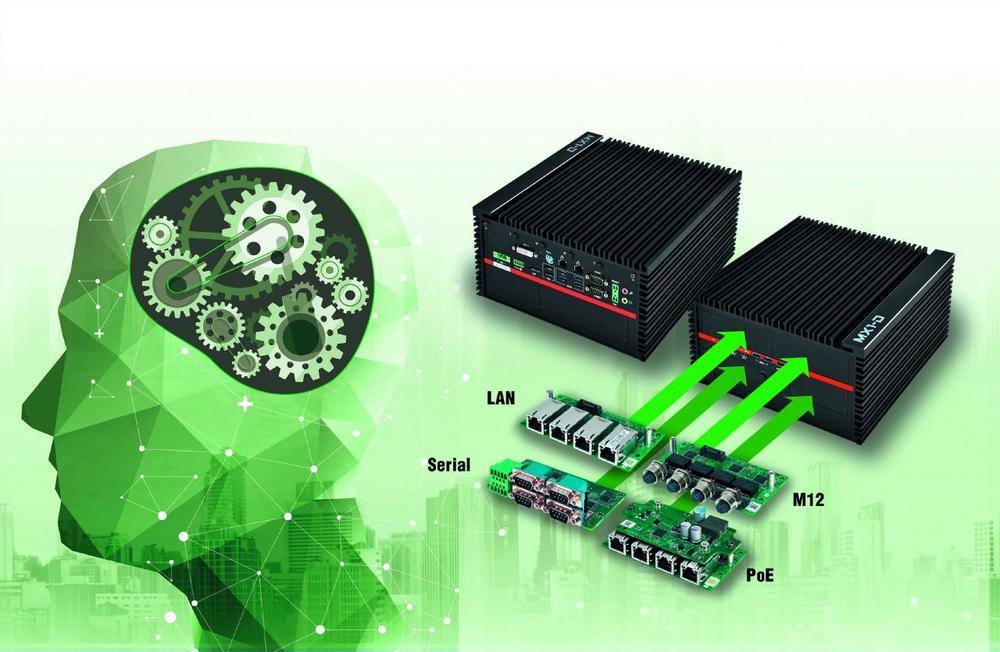 Modularer Embedded PC zertifiziert für Milestone Videomanagementsystem
