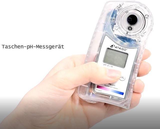 """Neues Taschen pH-Meter """"PAL-pH Amine"""" von ATAGO"""