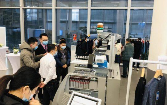 Die Marke STOLL demonstriert Stärke in China