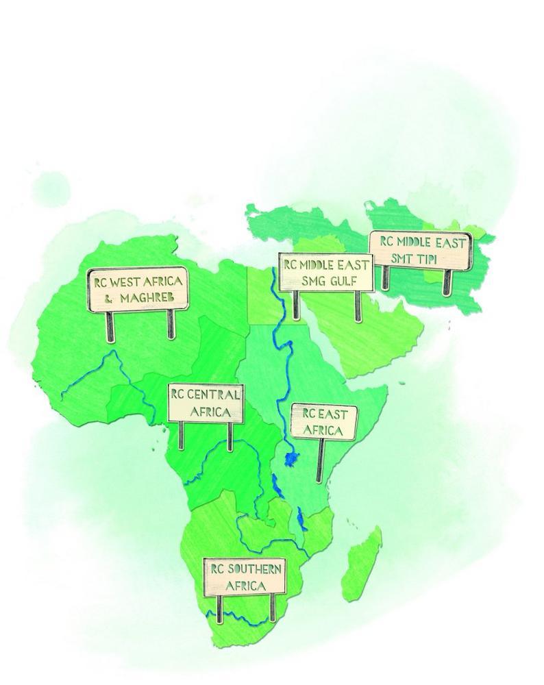 Starke Präsenz: KHS in der Wachstumsregion Afrika und Mittlerer Osten
