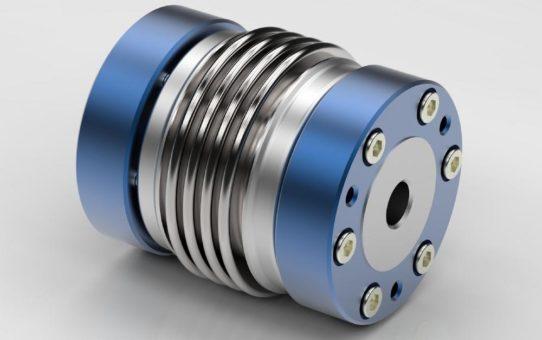 EWS Metallbalgkupplung für Hochgeschwindigkeitsanwendungen überarbeitet