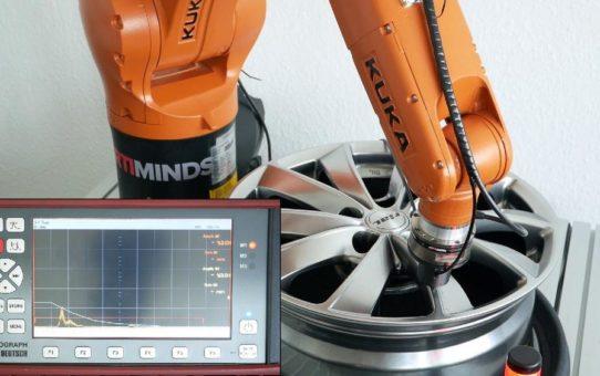 Robotergestützte Fehlerprüfung und Qualitätskontrolle mit Ultraschall
