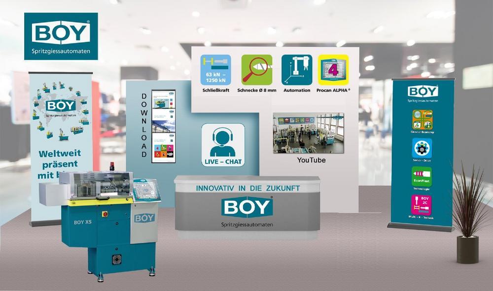 BOY auf dem virtuellen Technologietag Hein