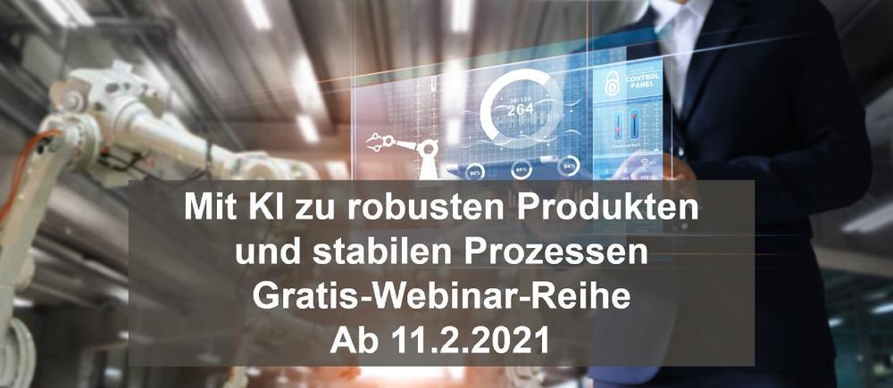 KI gewinnbringend einsetzen in der Industrie 4.0 - Gratis-Webinarreihe von Contech ab 11. Februar 2021