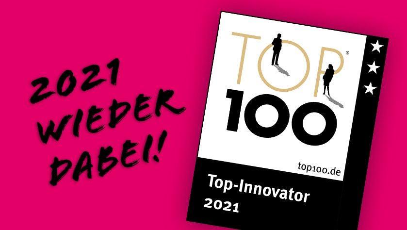 Wir sind TOP 100-Innovator!
