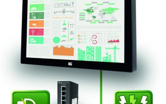 "Interaktiver 7"" All-in-One PC mit PoE+"
