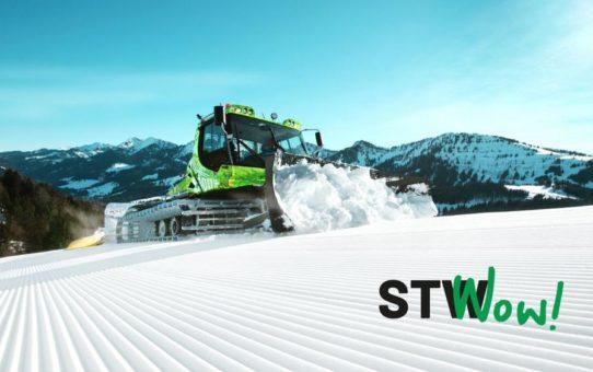 Perfekte Wintersportkondition – dank PistenBully und STW
