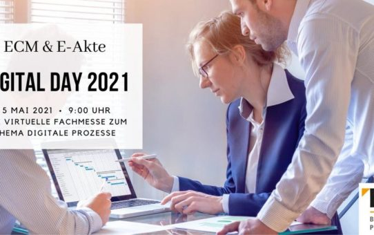 Digital Day 2021 – Der Fachkongress für ECM & E-Akte (Messe | Online)