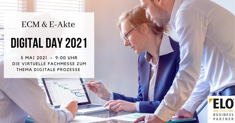 Digital Day 2021 - Der Fachkongress für ECM & E-Akte (Messe | Online)