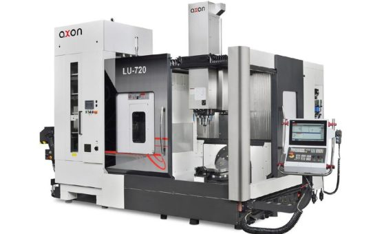 Neuheit: Das Axon CNC 5-Achs-Bearbeitungszentrum Litz LU 720