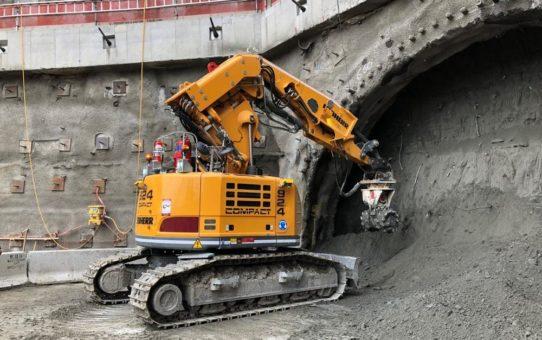 Erkat Querschneidkopffräsen für Tunnelbauprojekt City Rail Link in Auckland, Neuseeland, ausgewählt