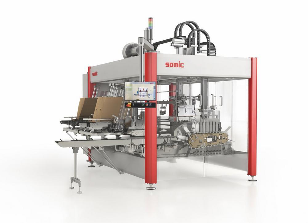 SOMIC Verpackungsmaschinen: 3D-Layouts unterstreichen Linienkompetenz
